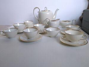 Servizio Vintage da 6 Tè Caffè Anni 30 Krautheim K&A Selb Bavaria