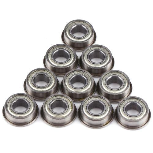10pcs Rubber Sealed Deep Groove Ball Roller Bearings Linear Bearings Bushing