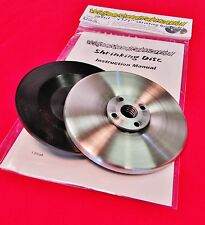 """SD4Kit, 4.5"""" """"Easy Shrink""""? Shrinking Disc Kit, 4 1/2"""" grinder shrinker tool"""