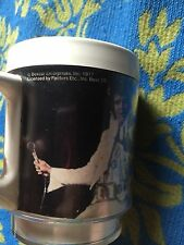 Elvis Presley Collectible Plastic Cup Mug Rare Vintage 1977 Poster Picture