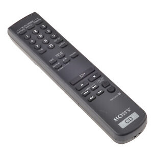 Original-Sony-RM-DX50-Remote-Control-for-CD-Player-Cdp-Xa-Es-Tested
