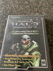 The Ultimate Halo Companion DVD Set (Microsoft Xbox, 2003) Brand New Sealed Rare