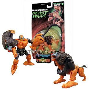 1998 Transformers Beast Wars Fuzor Bantor Baboon//Tiger Unused Kenner//Hasbro