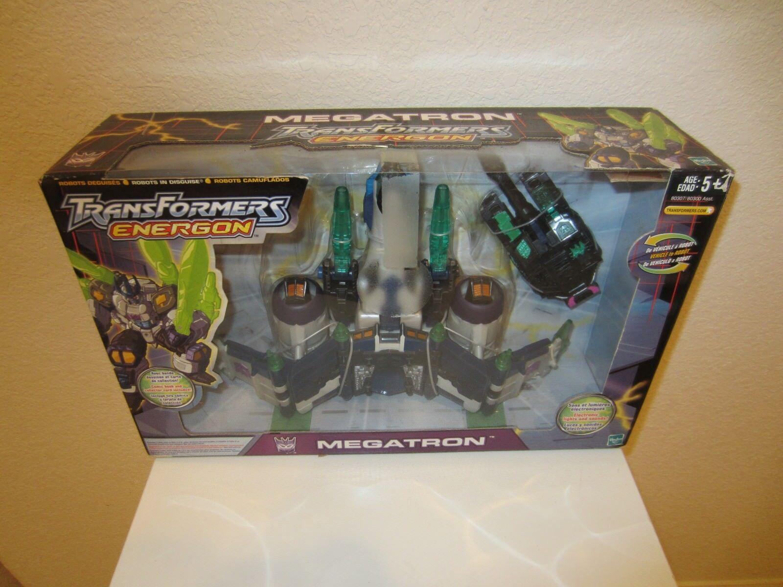 Transformers Action Figure Leader Class Energon Megatron 2003 MISB NEW
