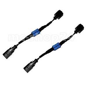 Adapter-SMD-LED-Kennzeichenbeleuchtung-Canbus-Widerstand-Stecker-fuer-1K8943021C