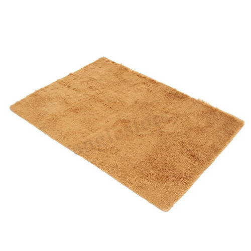 120x170 Fluffy Rugs Anti-Skid Shaggy Area Rug Home Carpet Floor Mat Kids Playmat