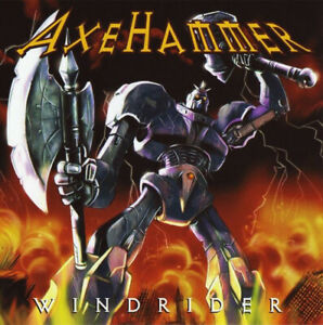 AXEHAMMER-Windrider-CD-10-tracks-FACTORY-SEALED-NEW-2006-Sentinel-Steel-USA