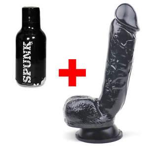 Large Dildo Sex Toy 8 Inch Penis For Men Black 8 Dildo Gay Huge
