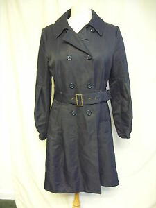 Coat Ted PowerBusto Ted Black Nero Trench Size Trench Taglia Baker 38Ladies Donna Baker SleevesBust 38 Cappotto 4Power 4Maniche QdthCBosxr