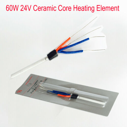 131A 60W 24V Soldering Iron Station Ceramic Core Heating Element Heater Coil Tip