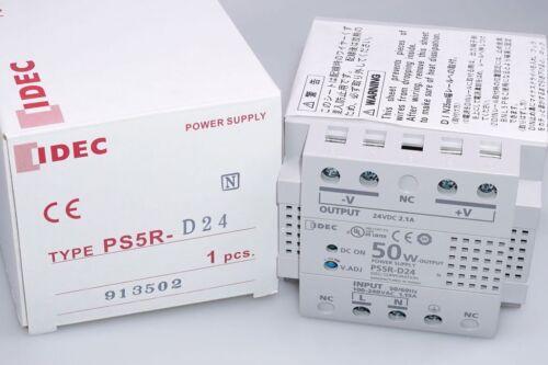 100-240v NEU 24VDC IDEC PS5R-D24 Netzteil Power Supply 50W 1PH 2.1A