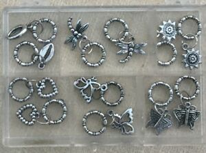 Acrylique Silver Charms Pour Fabriquer Des Bijoux-lot 1-afficher Le Titre D'origine Apparence Brillante Et Translucide
