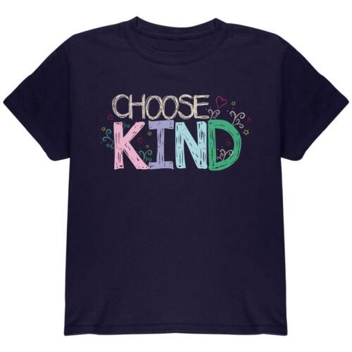 Anti-Bully Choose Kind Sketch Youth T Shirt