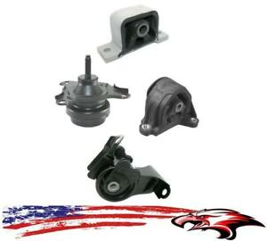 Engine Transmission Motor Mounts Kit For Acura RSX L AT - Acura rsx motor mounts
