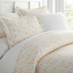 Home-Collection-Premium-Ultra-Soft-Fall-Foliage-Pattern-3-Piece-Duvet-Cover-Set