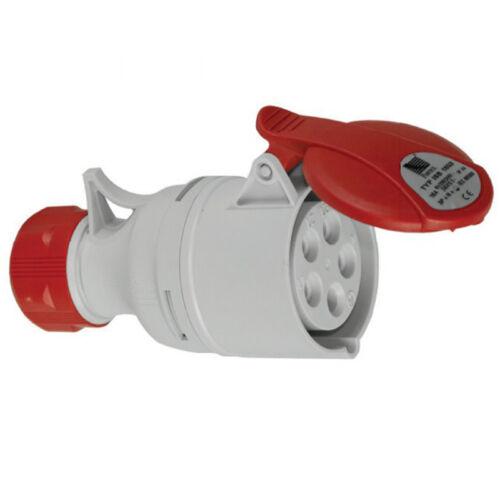 wall outlet Plug Socket Clutch Installation Socket 5 Pole 16a 400v