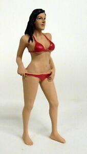 American-Diorama-1-18-Scale-Bikini-Girl-October-resin-figure-model-car-display