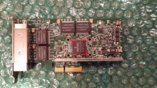 Dell Broadcom 5719 1GB Quad Port PCI-e NIC Low-Profile Bracket  TMGR6  0TMGR6