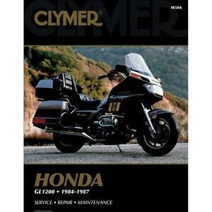 new clymer m504 repair manual honda goldwing 1200 84 87 free rh ebay ie honda goldwing 1200 repair manual honda goldwing gl1200 owners manual
