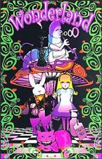 Psychedelic Alice In Wonderland Feed Your Head Bumper Sticker or Fridge Magnet