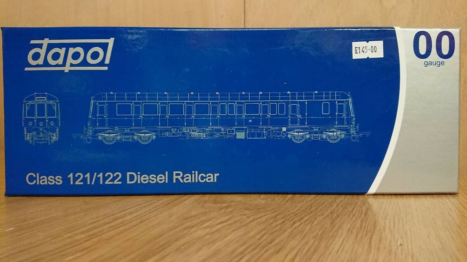 Dapol OO Gauge 4D-015-001 Class 122 Bubble Car 55002 bluee Grey DCC Ready NEW
