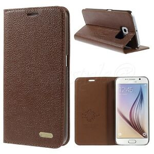 Samsung-Galaxy-S6-Edge-Plus-S5-S4-Note-4-Real-Genuine-Leather-Flip-Case-Cover