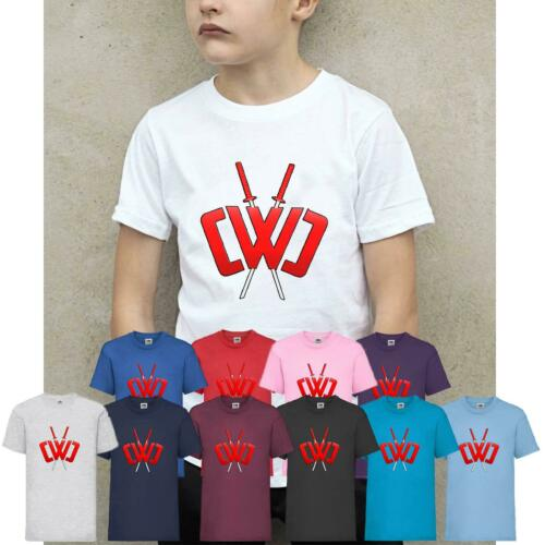 Kids Boys Girls Chad Wild Clay CWC Ninja T-Shirt Youtuber Gamers Xmas Tee Top