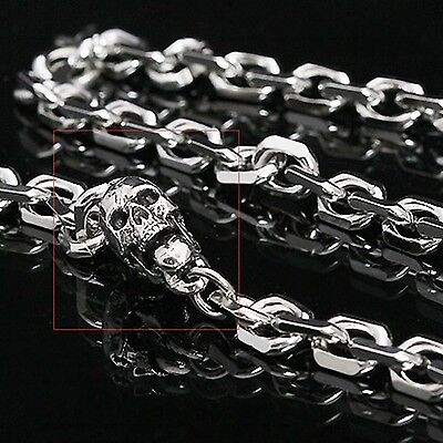 Guntwo Mens Korean Fashion Jewelry Funk Biker Skull Jean Wallet Chain C1152 US