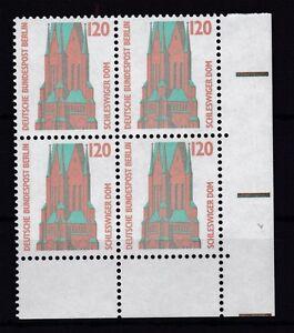 Berlin-1988-SWK-postfrisch-VB-unten-rechts-MiNr-815-St-Petri-Dom-Schleswig