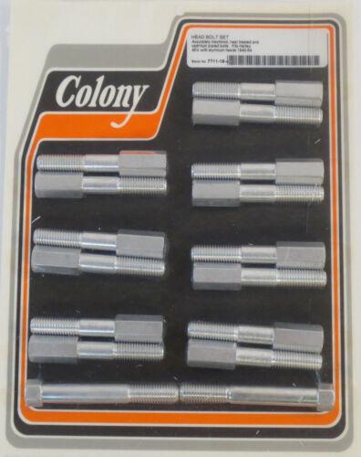 Colony HEAD BOLT SET Harley Aluminum Heads Flathead WL Servi-Car 45
