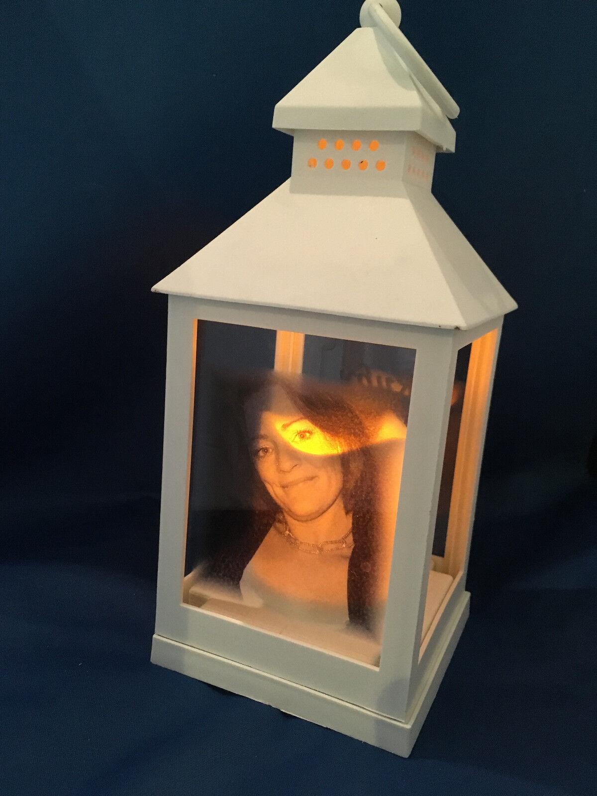 Personalisiertes Foto Laterne Denkmal Hochzeit-geburtstag Valentinstag Gedenken | Starke Hitze- und Hitzebeständigkeit  | Exzellente Verarbeitung