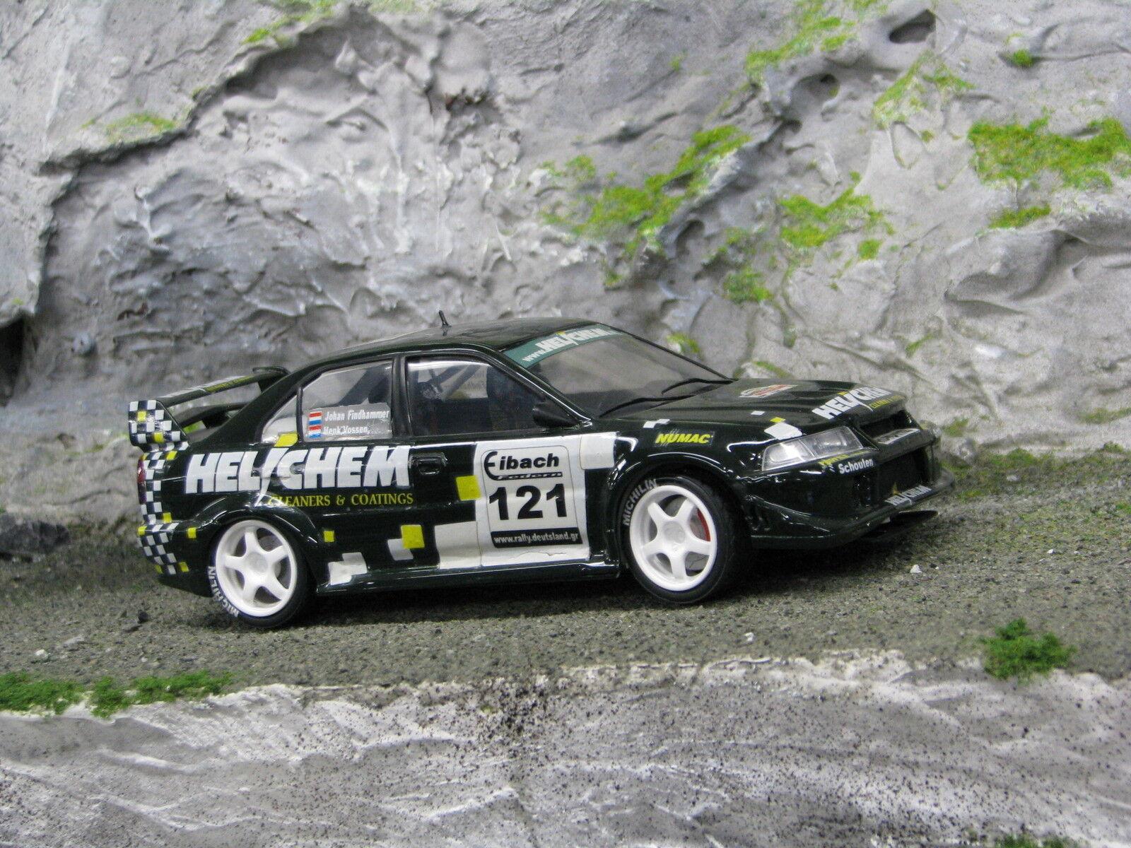 QSP Mitsubishi Lancer Evo Vl 1:24  121 Vossen / Findhammer Deutschland Rally