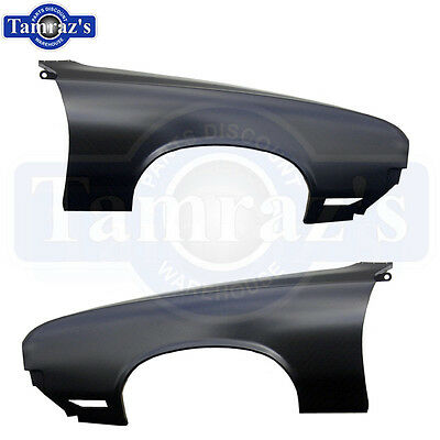 70-72 Cutlass 442 F85 Front Fender - Pair New