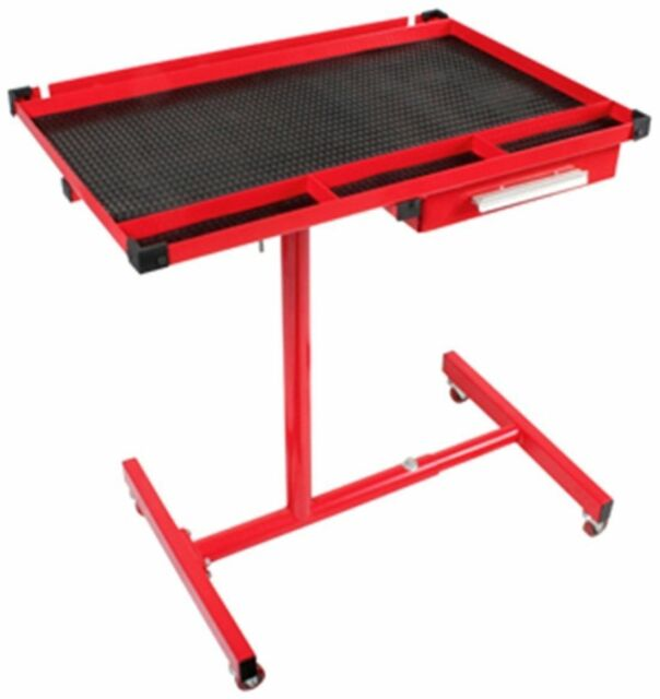 Remarkable Rolling Tool Table Metal Drawer Storage Garage Mechanic Shop Workbench Portable Pdpeps Interior Chair Design Pdpepsorg