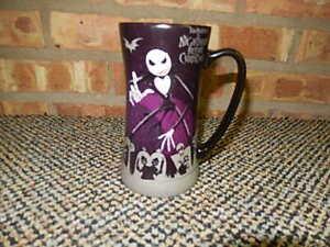 Nightmare Before Christmas Coffee Mug.Details About Disney Store Jack Skellington Nightmare Before Christmas Coffee Tea Tall Mug Nr