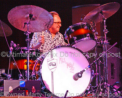 Mitch Mitchell Photo Jimi Hendrix Concert Photo by Marty Temme Drums