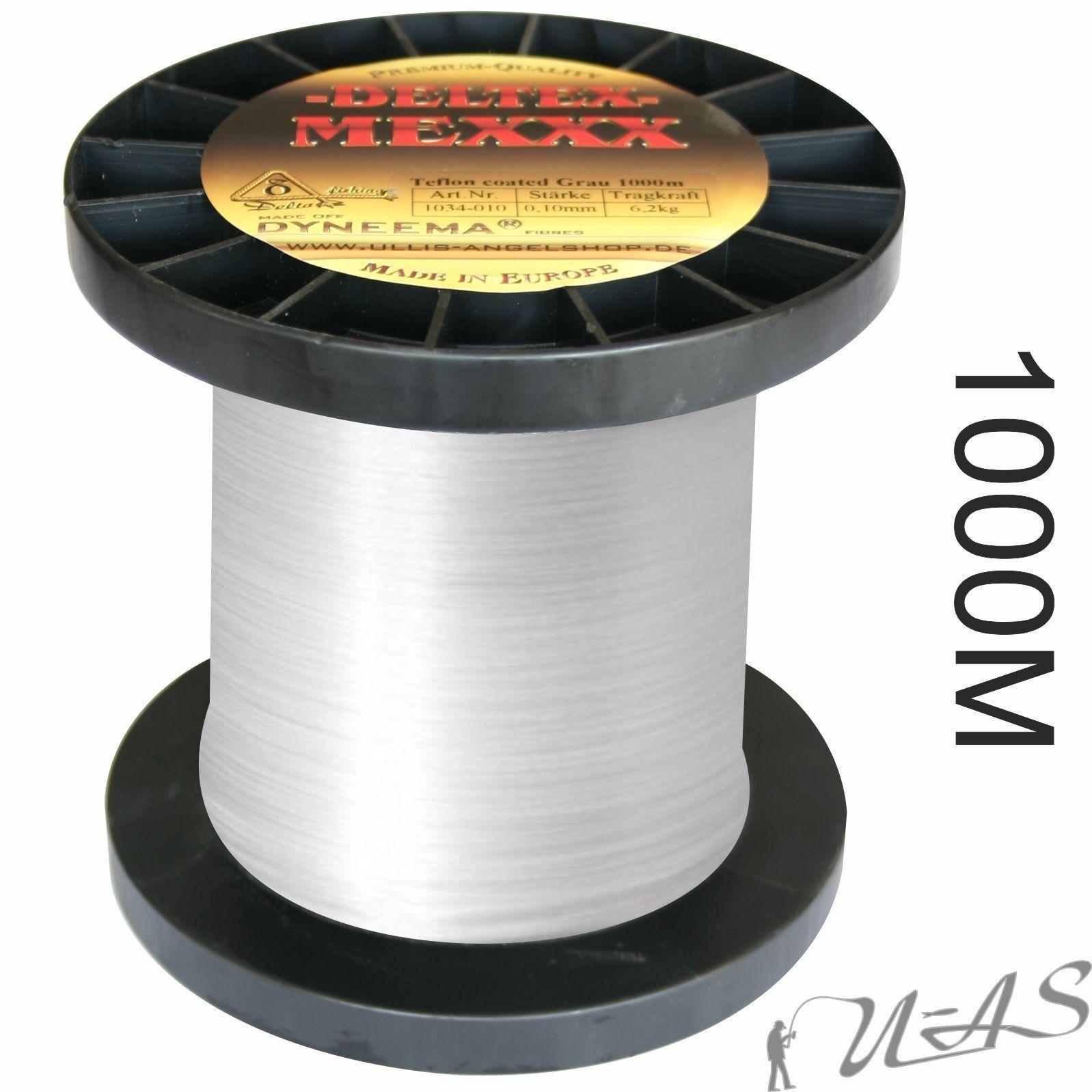 Deltex mexxx BIANCO 1000m Dyneema intrecciato lenza Teflon coated SHA