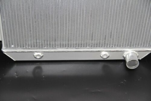 55-57 Chevy Bel Air Del Ray One-Fifty Two-Ten Series V6 3 Row Aluminum Radiator