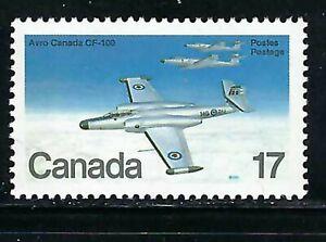CANADA - SCOTT 873 - VFNH - MILITARY AITCRAFT - AVRO CANADA CF-100 (1950) - 1980