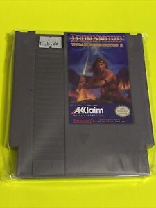 100-WORKING-NINTENDO-NES-Game-Cartridge-WIZARD-AND-WARRIORS-2-IRONSWORD