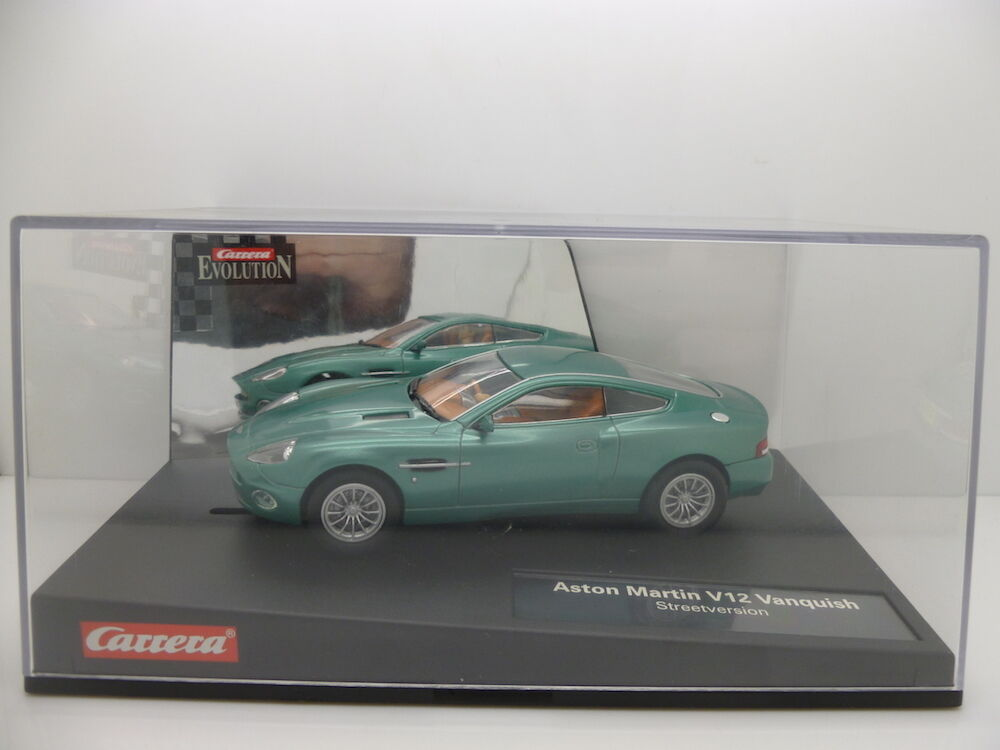 Carrera 25700 Evolution Aston Martin, Vanquish, Mint unused car and boxed