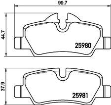 Motaquip Front Rear Brake Pad Accessory Fitting Kit VMK820-5 YEAR WARRANTY