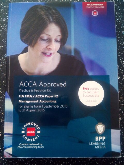 fia foundations in management accounting fma acca f2 interactive text