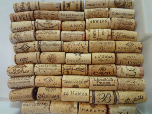200 WINE CORKS variety of brands FREE shipping via USPS Priority Mail USED