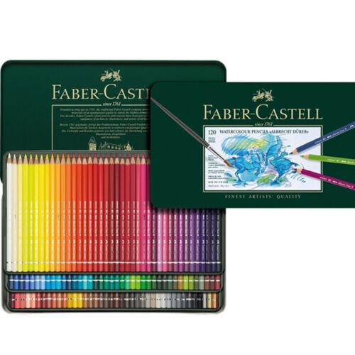 Faber-Castell Albrecht Durer Watercolor Pencils Tin Set of 120 Assorted Colors