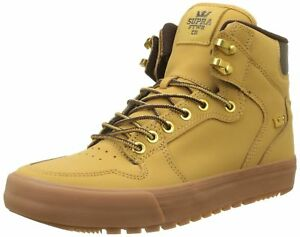 5319ef31c265 Image is loading Supra-Vaider-Cold-Weather-Skate-Shoe-Amber-Gold-
