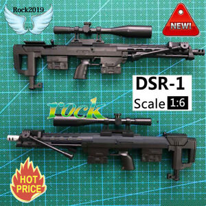 1-6-Scale-DSR-1-Sniper-Rifle-For-12-034-Action-Figure-Gun-Model-Weapon-Soldier-SWAT