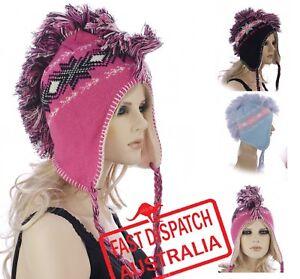 Unisex Fairisle Pattern London Peruvian Winter Hat HA389