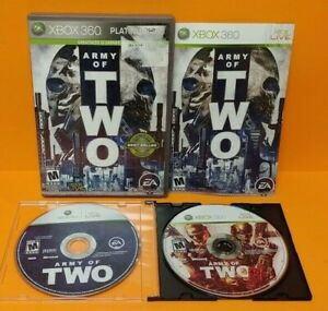 Army-of-2-40th-Day-Microsoft-Xbox-360-Game-Lot-Tested-Works