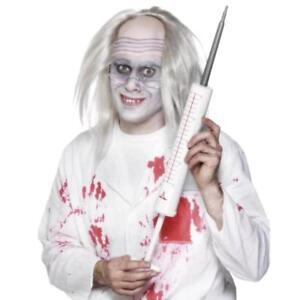 Giant White Syringe Needle Toy Halloween Injection Doctor